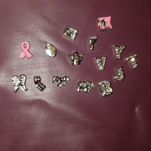 Origami Owl Style Charms